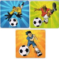 Football Jigsaw Puzzles - Football Party Bag Fillers