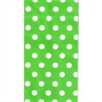 Green Polka Paper Bag
