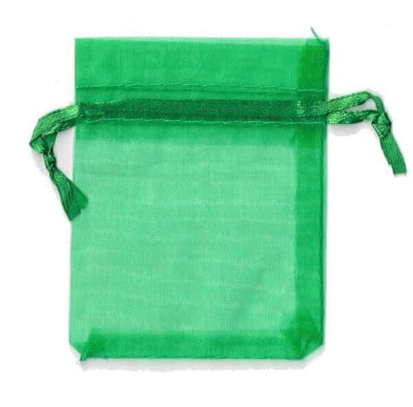Organza Bag Green