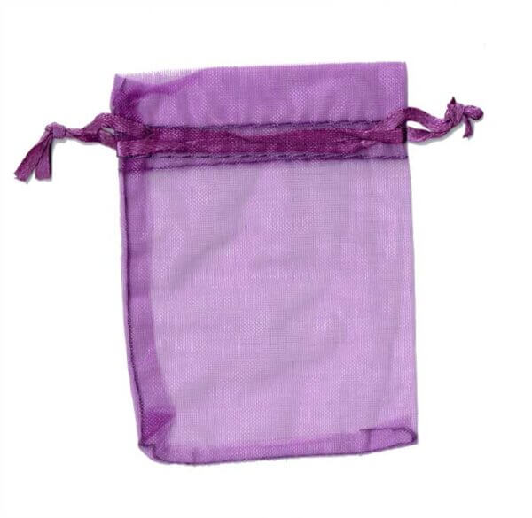 Organza Bag Purple