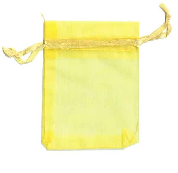 Organza Bag Yellow