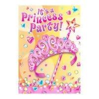 Princess Party Invites