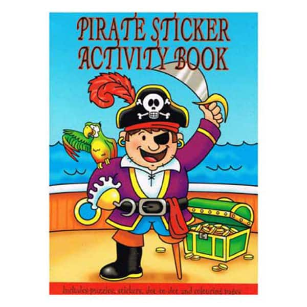 pirate sticker books