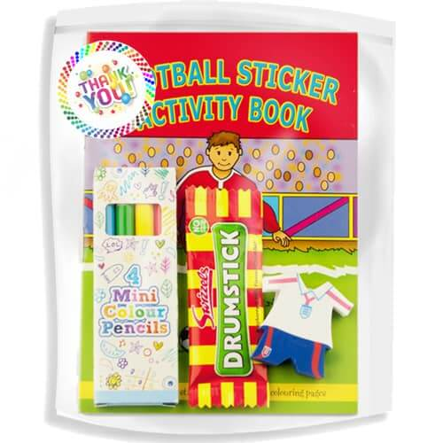 Football-Sticker-Book-Bag