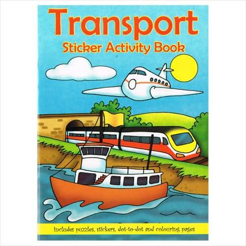 Transport-Sticker-Book
